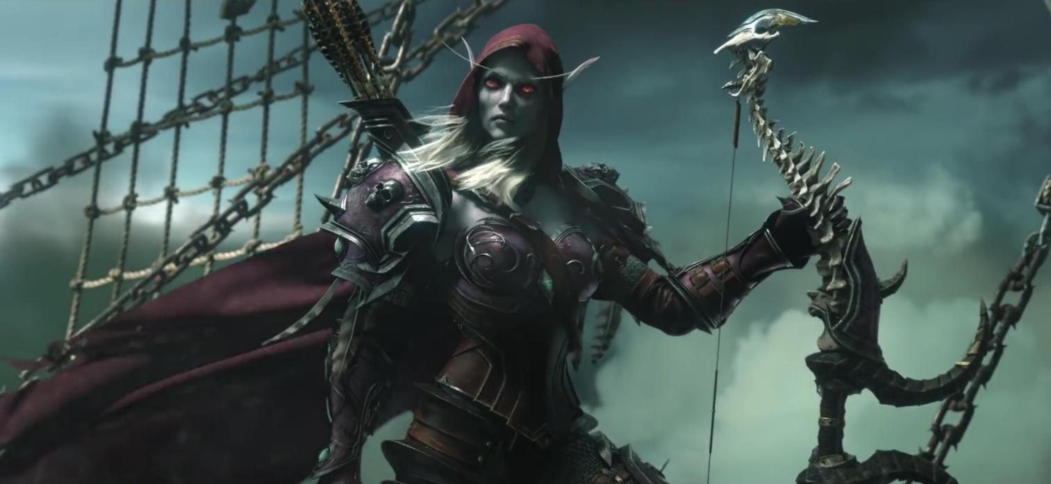 image Sylvanas world of warcraft hmv
